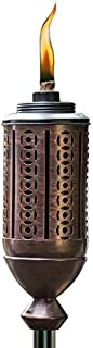 TIKI Brand 65-Inch Cabos Metal Torch, Copper