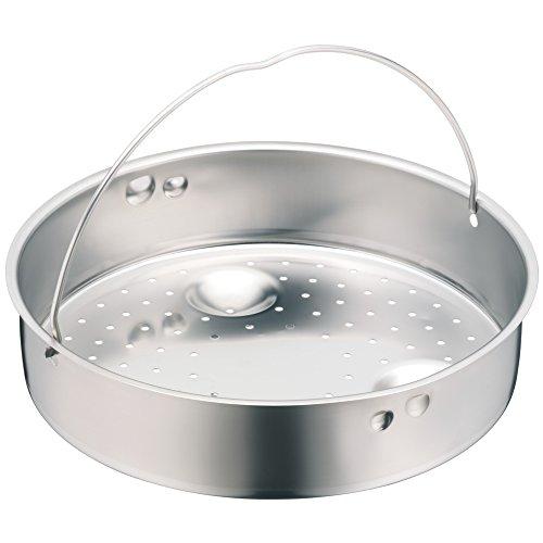 WMF Schnellkochtopf-Zubehör, Dampfer-Einsatz 5,8 cm, gelocht, für Schnellkochtöpfe 20 cm, Cromargan Edelstahl, spülmaschinengeeignet