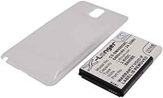 Replacement Battery for Samsung Galaxy Note III, SC-01F, SGH-N075, SM-N900, SM-N9000, SM-N9002, SM-N9005, SM-N9006 (6400mAh)