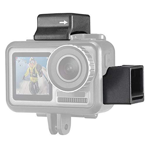 Topiky cameramrofon koude schoenhouder microfoonaccessoires voor DJI Osmo Action