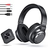 Wireless Bluetooth Headphones for TV, Jelly Comb Wireless Optical Headset Over-ear with Bluetooth