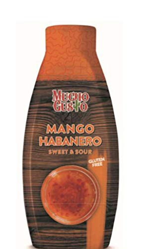 Salsa sweet&sour mango e habanero agrodolce g.1100 Mucho Gusto