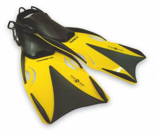 Aqua Lung Powerflex Flosse, Gelb, L/XL