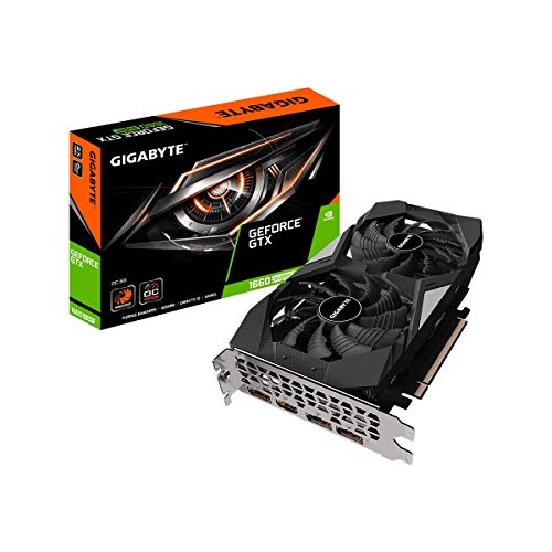 GIGABYTE NVIDIA GeForce GTX1660Super搭載グラフィックボード GDDR6 6GB 【国内正規代理店品】 GV-N166SOC-6GD
