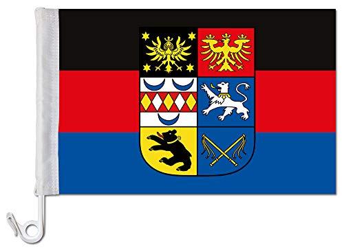 Everflag Auto-Fahne: Ostfriesland + Wappen - Premiumqualität