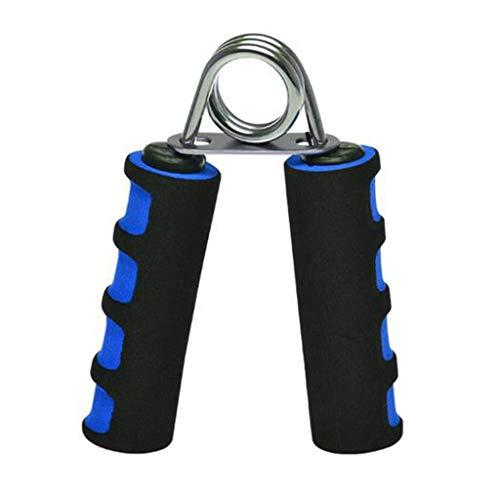 Yyooo - Empuñadura de mano portátil y cómoda para dedos - Ejercitador de mano de espuma suave para aumentar rápidamente el antebrazo de la muñeca y la fuerza de los dedos