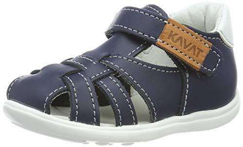 Kavat Unisex-Kinder Rullsand Geschlossene Sandalen, Blau (Blue 989), 24 EU