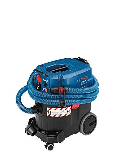 Bosch Professional GAS 35 H AFC - Aspirador seco/húmedo (1200 W, 254 mbar, depósito 35 l, clase polvo H, manguera antiestática 5m)