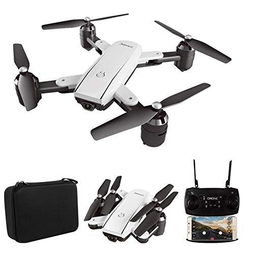 ZHCJH Dron de posicionamiento de Flujo óptico HUAXM, con cámara UHD 4K para Adultos, aeronave de Cuatro Ejes, regresa automáticamente a casa, sígueme, Tiempo de Vuelo 20 Minutos