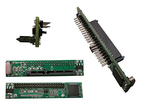 Kalea-Informatique - Convertitore adattatore ultrapiatto, SATA 2.5 a IDE 2.5 44 pin, per sostituire un disco IDE portatile con disco SATA!