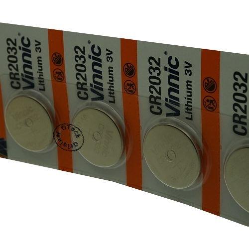 Otech Pack de 5 Batterien/Akkus Vinnic für Polar RCX5
