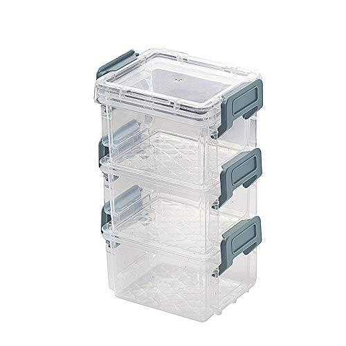 WuLL Jewellery Box Organizer Desktop transparante opbergdoos met deksel sieraden afwerkingsdoos Tafel kan worden gestapeld met briefpapier verandering opbergdoos