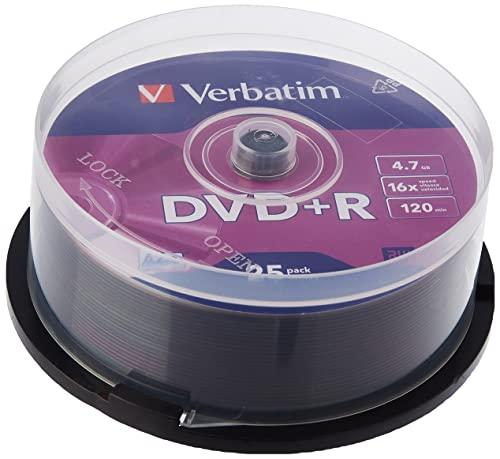 VERBATIM CORPORATION -  Verbatim DVD+R 16x