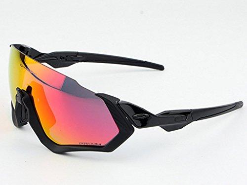 Gafas Polarizadas Deporte Bici Anti UV400 Gafas para Correr Running Antivaho con 3 Lentes Intercambiables Adaptadas También A Ciclismo Bicicleta De Montaña MTB