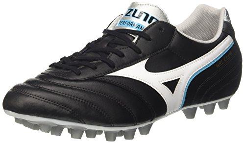 Mizuno Morelia Club 24, Scarpe da Calcio Uomo, Nero (Black/White/Blueatoll), 46 EU