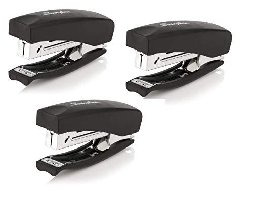 Swingline Stapler, Soft Grip Handheld Stapler, 20 Sheet Capacity, Black