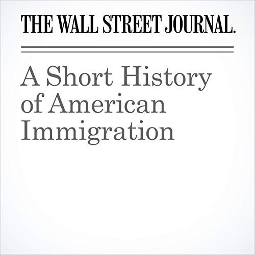A Short History of American Immigration audiobook cover art