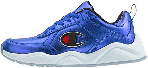 Champion Mens 93Eighteen Metallic Metallic Fashion Sneakers Blue 10 Medium (D)