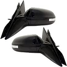 Koolzap For Power Heat Signal Lamp Folding Mirror Left Right Side SET PAIR 09-14 Maxima