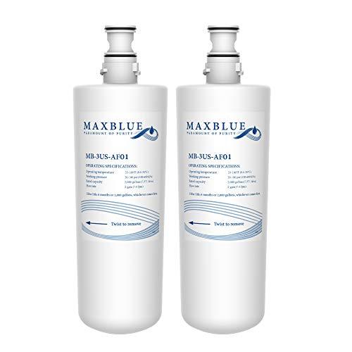 Maxblue 3US-AF01 Wasserfilter, kompatibel mit Filtrete 3US-AF01, InSinkErator Hot Water Tap F701R, F-701R, HC-3300, GN-1100, HC-1100, 3M AP3-765S, 70020019835 (2)