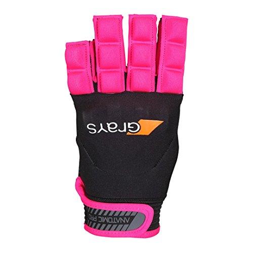 Grays Anatomic Handschuh für die rechte Hand, schwarz/rosa, XXS