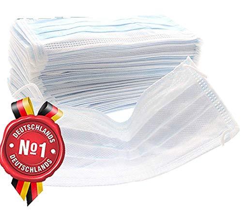 20x FILBERT Hypoallergene Mundschutz Maske 3 lagig - HERGESTELLT IN DER EU - Atemschutz Mundmaske Hygienemaske Atemschutzmaske zur Prophylaxe