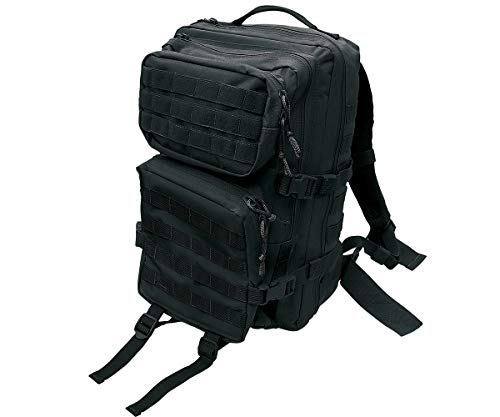 Commando Industries US Rucksack Assault II Daypack 50 Liter (Schwarz)