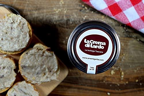 Crema di Lardo 200 Grammi - Prodotto spalmabile tipico Toscano - A Me Mi Garba