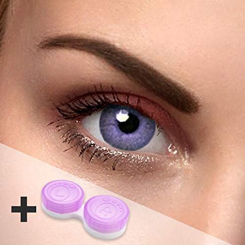 2x Lila Kontaktlinsen