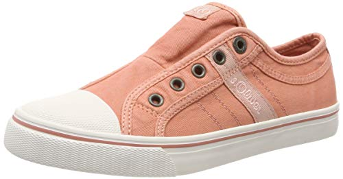 s.Oliver Damen 5-5-24635-22 512 Slip On Sneaker, Pink (Old Rose 512), 41 EU