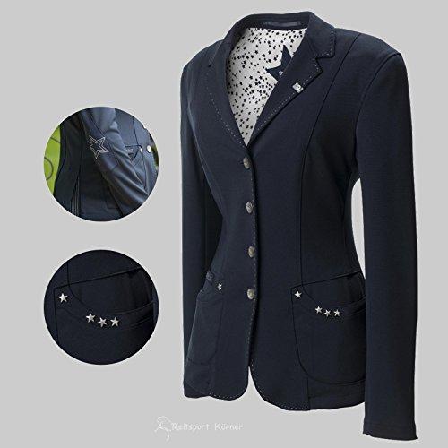 """Pikeur Turnierjacket \"""" DAVITA \"""", Damenjacket, Turniersakko, Damensakko Größe 40, Farbe schwarz"""