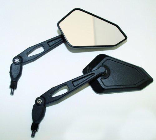 Spiegel BOOSTER, schwarz, M8, Paar, E-gepr. Yamaha