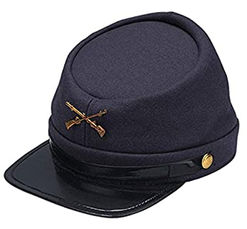 Jacobson Hat Company Adults Civil War Yankee Union North Soldier Hat Costume Accessory,Blue,Standard Size