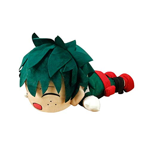 WDDAM My Hero Academia Plush Toys Deku Todoroki Shoto Bakugou Katsuki Papa Doll Plushie Pillow for Girls Boys Gifts