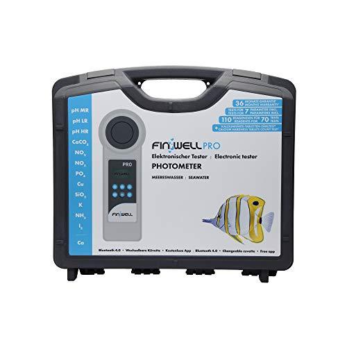 Finwell PRO Elektronischer Wassertester für die professionelle Analyse im Meerwasser Aquarium