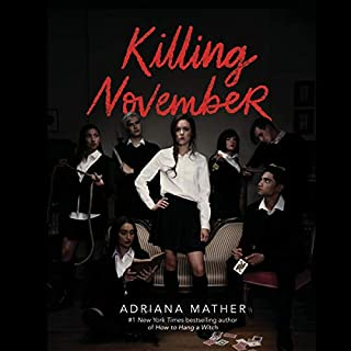 Killing November audiobook cover art
