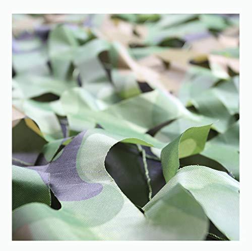 Net de camouflage de chasse net de camouflage de camping net de camouflage, peut être utilisé pour la chasse de camouflage camping cuir crème solaire décorative vert ( Couleur : B , taille : 4*6m )