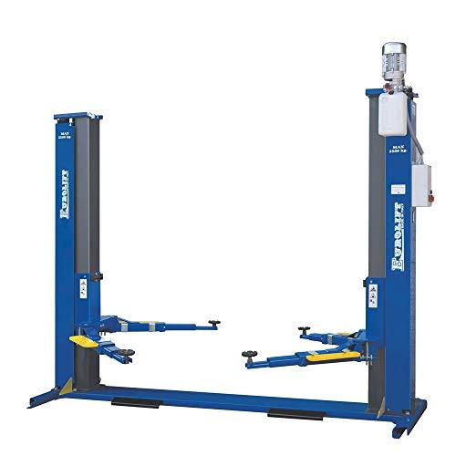 Hebebühne für Auto Monofase Elektrohydraulisch 2 Säulen Zavalla Z61m/3sl Tragkraft 3500 kg