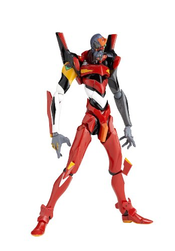 Revoltech Yamaguchi Series: Rebuild of Evangelion Revoltech Eva Unit 02 Trailer Version Series No.124 figurine