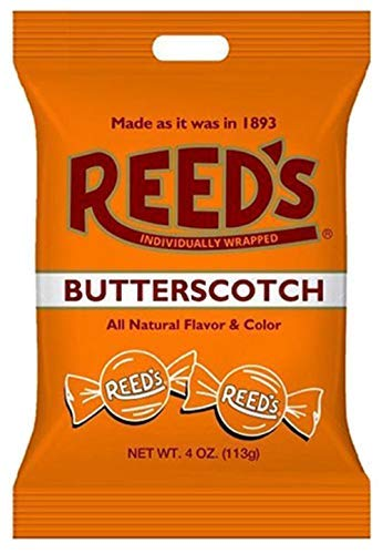Old-Fashioned Reed's Butterscotch Hard Candy, 4 oz. Bag-set of 2