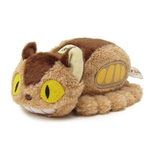 Mein Nachbar Totoro (Ghibli) Funwari Kuscheltier / Stofftier / Plüsch Figur: Katzenbus / Catbus / Neko Bus 16 cm