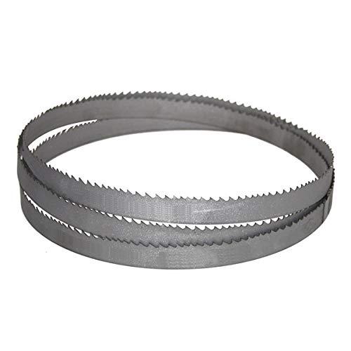 BiMetall M42 - Hoja de sierra de cinta para cinta de metal (1638 mm de largo, 13 mm de grosor, 0,65 dientes 10/14)