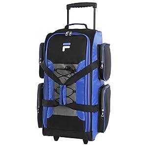 "Fila 26"" Lightweight Rolling Duffel Bag, Blue, One Size"