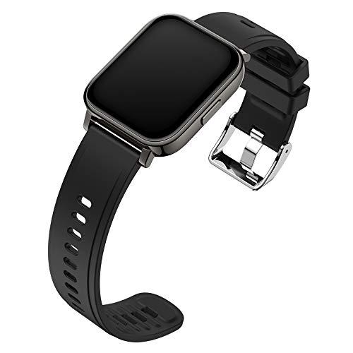 ZXCVBN [Nueva actualización 2021] Reloj Deportivo Inteligente, Pantalla táctil a Color, Elegante y Hermoso, con función Avanzada de monitoreo de Salud