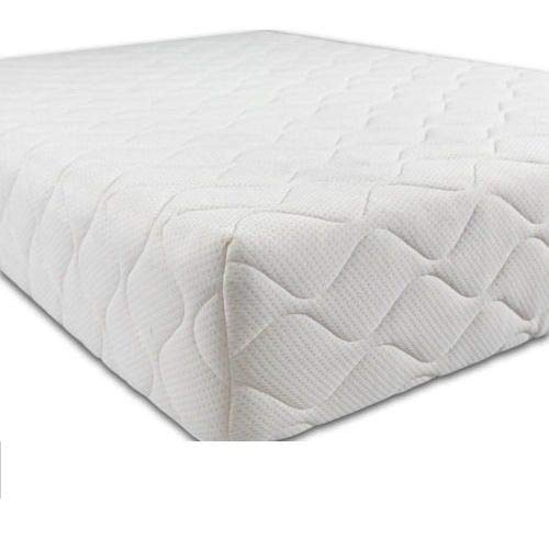 89cm x 40cm Crib Mattress with Quilted Removable Cover for Bedside Cot, Crib or Cradle - Anti Fungal - 89cm x 40cm x 5cm
