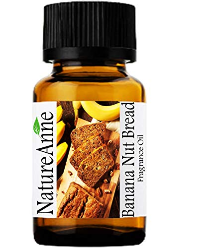 Banana Nut Bread Premium Grade Fragrance Oil - 10ml - Scented Oil - for Diffuser Oils, Making Soap, Candles, Lotion, Home Scents, Linen Spray, Lotion, Perfume, Beard Oil,