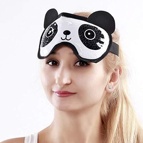 Kühlende Augenmaske Gel Augenmaske Schlafmaske Kühlmaske Kühlbrille für Die Augen, Migräne, Entspannung, Kopfschmerzen, Augen Geschwollene