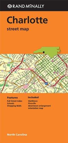 Rand McNally Folded Map: Charlotte Street Map