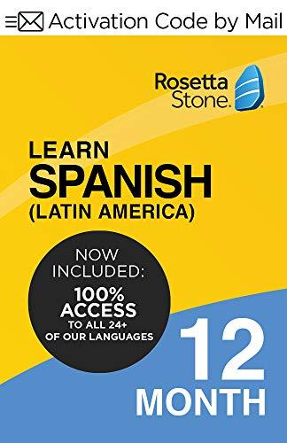Rosetta Stone Learn Spanish (Latin America)|12 Months| PC/Mac Keycard
