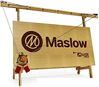 Maslow CNC Jumpstart Kit by Maker Made - Includes full Z Axis Control, Router Bit and Pre-made sled